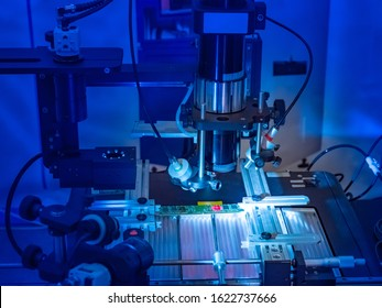 PCB. Production of microprocessors. Creation of components for computers. Equipment for testing microboards. High-tech production. Technical Lab. Expertise. Microprocessor manufacturing process
