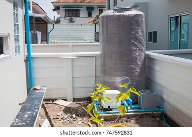 PE plastic cold water tank