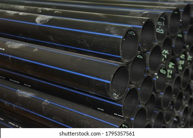 PE100 pipe. Polyethylene pipe product