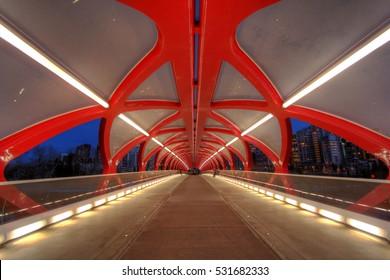 Peace Bridge Calgary, Alberta