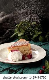 Peace of cake homemade dezert sweet tasty  - Shutterstock ID 1429496780