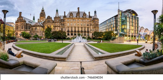 The Peace Gardens are an inner city square in Sheffield, England. It was created as part of the Heart of the City project by Sheffield City Council.