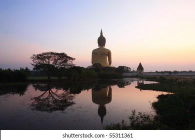 Peace land, Wat Muaeng, Thailand