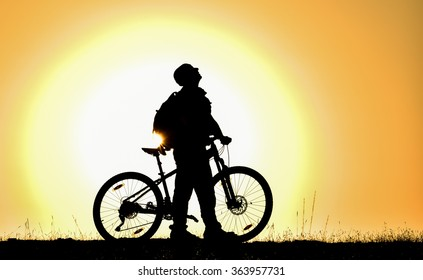 peace with nature in cycling