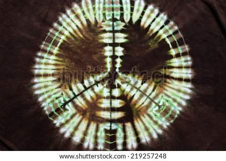 a7d85bf8 Peace Sign Tie Dye Pattern Background Stock Photo (Edit Now ...