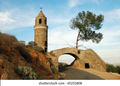 Peace Tower and Friendship Bridge; Mount Rubidoux; Riverside, California