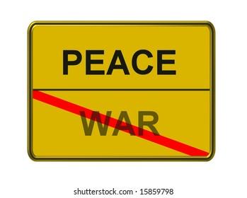 peace - war