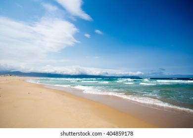 Peaceful beach in heaven Nha Trang, VietNam