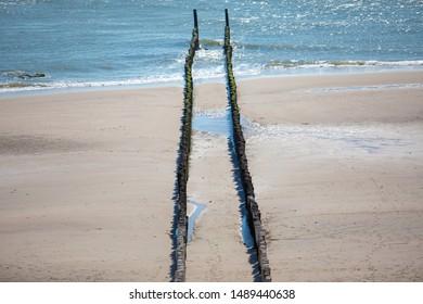 Peaceful Beach at Zeeland (Netherlands)