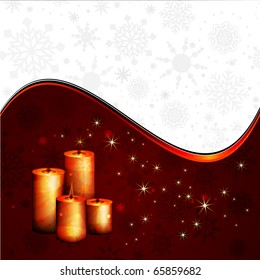 Peaceful Candles | Christmas Composition