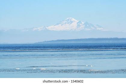 peaceful coastline