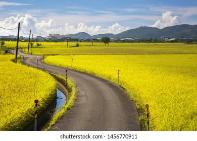 Peaceful country landscape. Yilan Brown;Sanqi Village;Yilan;Taiwan