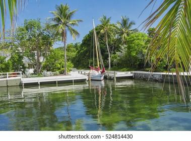 Peaceful Dockage in Islamorada, Florida