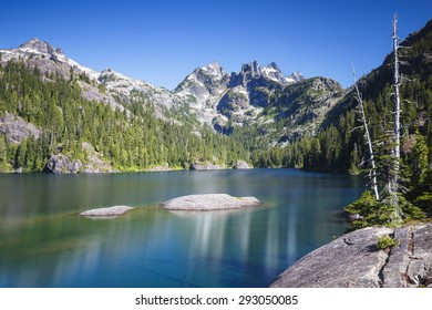 Peaceful and healthy landscape that is calm and tranquil