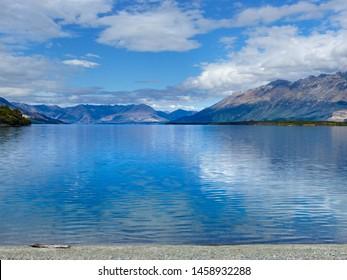 Peaceful Lake Wakatipu, Glenorchy, New Zealand