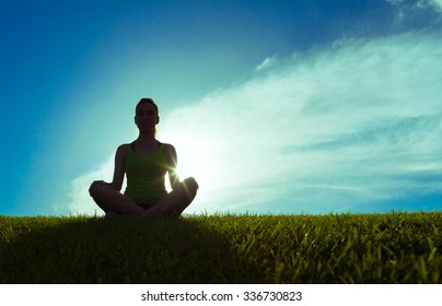 Peaceful meditation.