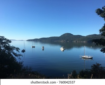 Peaceful Morning. Rosario Resort, East sound, Orcas Island, WA. 2017.