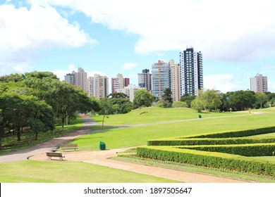 Peaceful parks and urban landscapes