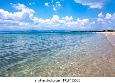 Peaceful seaside at Thassos island - Shutterstock ID 1919435588