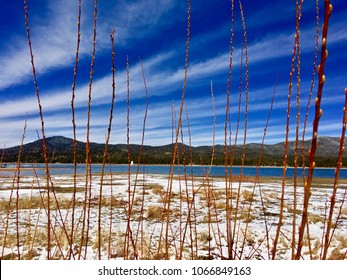 Peaceful View of Big Bear Lake California.
