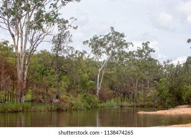 Peaceful view of the Walsh River in Queensland, Australia