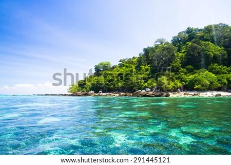 Peaceful Wallpaper Divine Shoreline