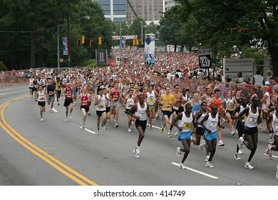 Peachtree Road Race 2005