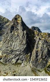 Peak - Ciezka Turnia (Tazka veza) in the Tatra Mountains, Slovakia. - Shutterstock ID 1545913652