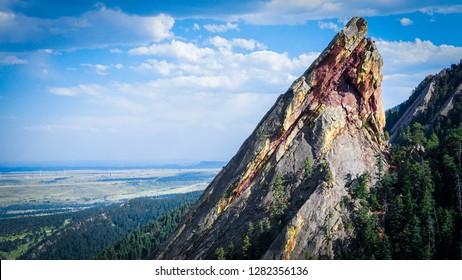 Peak of the Flatirons Chautauqua Park Colorado Boulder