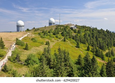 Peak of Grosser Arber (Velky Javor), Sumava mountain, Germany, 11th August 2015 - Shutterstock ID 629420027