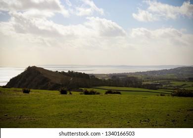 Peak Hill at Sidmouth, Devon