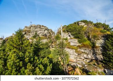 Peak of Jizera Mountain