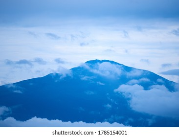 Peak of Mount Cameroon in the morning