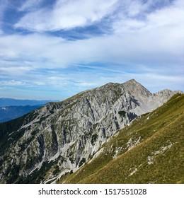 Peak of Mount Stol in the Julian Alps, Slovenia - Shutterstock ID 1517551028
