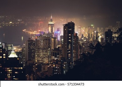 Peak view / Hong Kong island