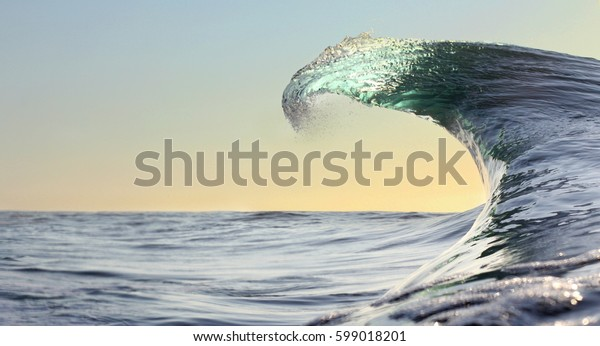Peak of the wave