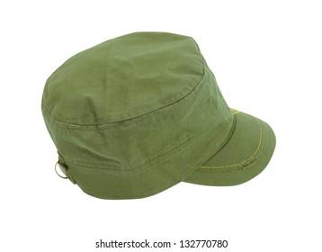 peaked cap
