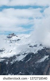 Peaks on the French Alps