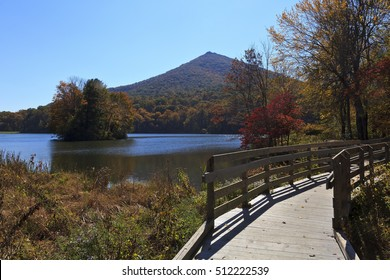 Peaks of Otter off the Blue Ridge Parkway in Virginia