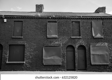 Peaky Blinders filming location - Peaky Blinders filming location - Powis Street Liverpool - Houses to be demolished