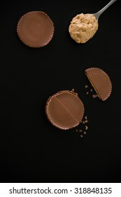 Peanut Butter Cup Background