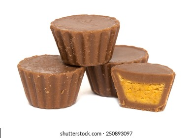 Peanut Butter Cups Stacked