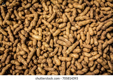 Peanut dry fruit or groundnut beans - useful as a background