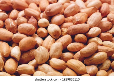 Peanuts, for background or textures. Uncleaned inshell peanuts.