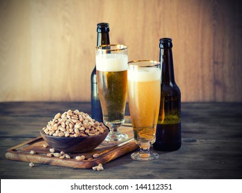 Peanuts and a Beer