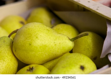 Pear in the box