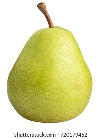 Pear isolated on white background with clipping path