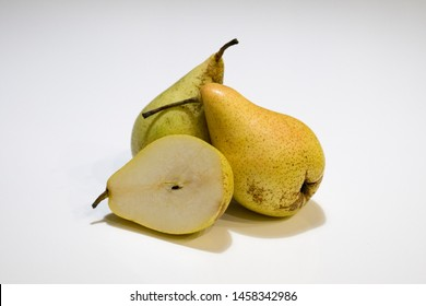 Pear Pears Isolated white background