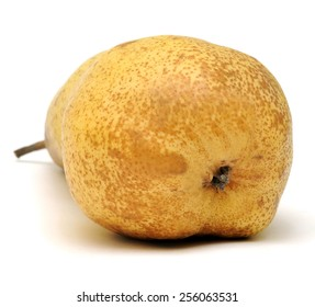 Pear, shot on a white background.