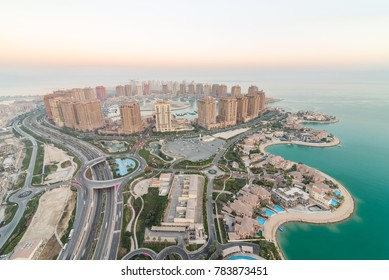 The pearl city on qatar on 30 December 2017